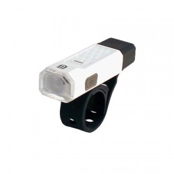 Faro delantero USB 1 LED UNION Blanco/Negro
