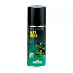Aceite para cadena en Spray WetLube Motorex de 56ml para clima húmedo