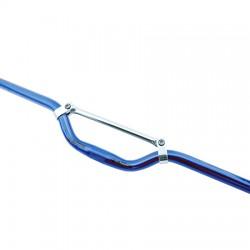 Manillar de aluminio descenso Azul/Lila