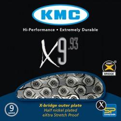 CADENA KMC X9-93 116 pasos 9V