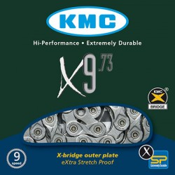 CADENA KMC X9-73G 116 pasos 9V