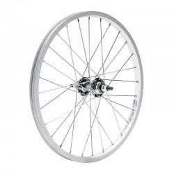 Rueda de 12,5X2 ¼ aluminio trasera