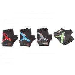 Guantes cortos Bioergo Gris/Rojo/Azul/Verde-Negro
