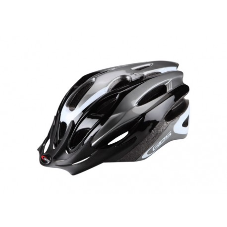 Casco adulto GES Rocket Negro-gris-blanco