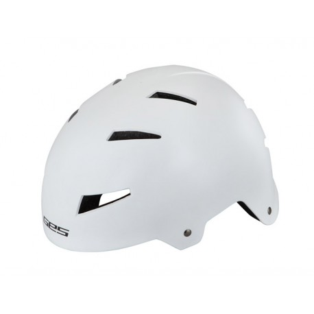 Casco BMX IRON GES Blanco