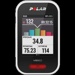 Polar V650 Ciclocomputador c/GPS c/sensor fr. cardiaca
