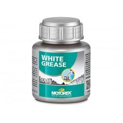 Grasa blanca Motorex 100 gramos con aplicador de pincel