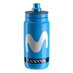 Botella Élite Fly 550ml Movistar/Bahrain/SKY/Groupama/Michelton/DimensionData