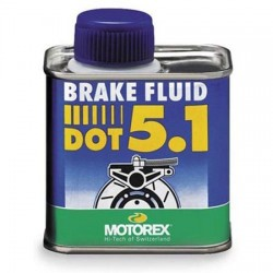 Aceite sintético DOT 5,1 para frenos hidraulicos de Motorex 250ml