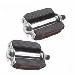Pedales de carretera Aluminio estilo retro Wellgo M-14