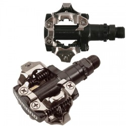 Pedales MTB automaticos Shimano M520 SPD BL/NG/PL